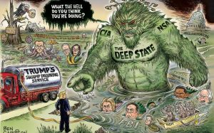 Deep-State-Swamp-Monster