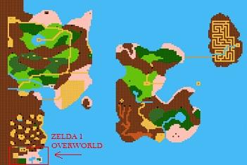 Zelda-II-Zelda-Overworld-VGMaps