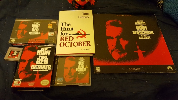 The-Hunt-For-Red-October-SNES-NES-Game-Boy-CD-I-Laserdisc-Book