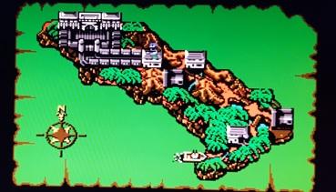 Guerrilla-War-NES-Map
