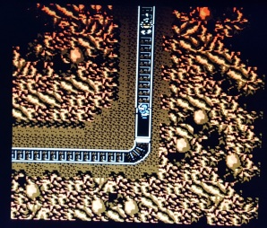 Guerrilla-War-NES-mine-cart