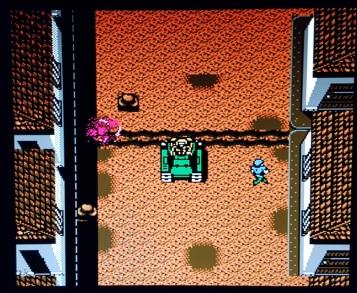 Guerrilla-War-NES-tank