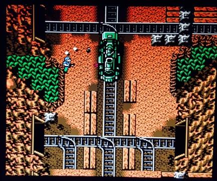 Guerrilla-War-NES-train