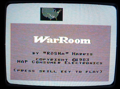 War-Room-Colecovision-Title-Screen