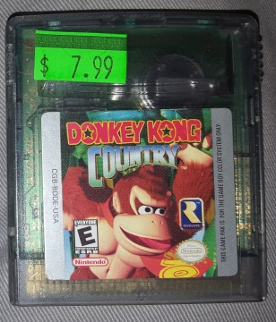Donkey_Kong_Country-GBC-Cartridge