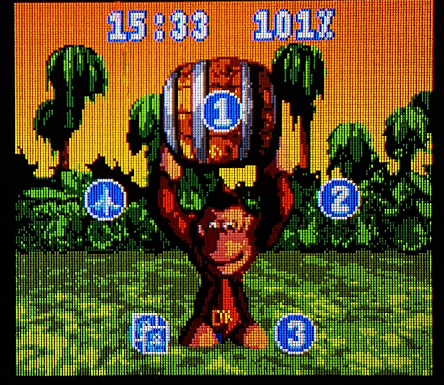 donkey kong country snes gba comparison