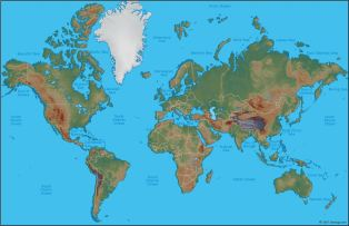 world-physical-map-geology
