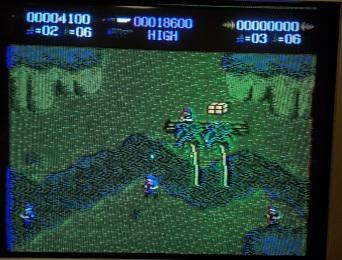 Commando_Atari_7800_sandbags