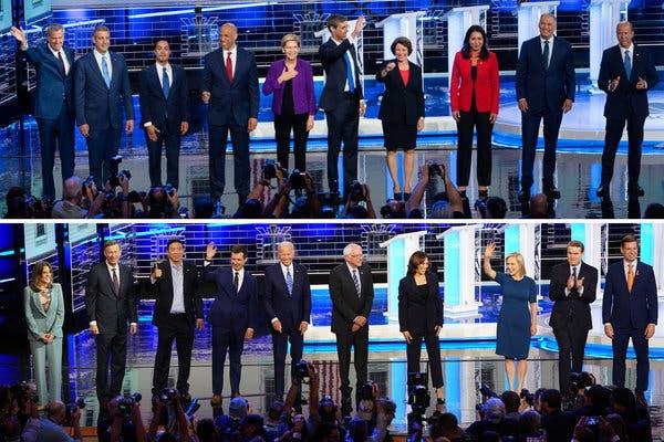 Democratic-debates-candidates-nytjpg